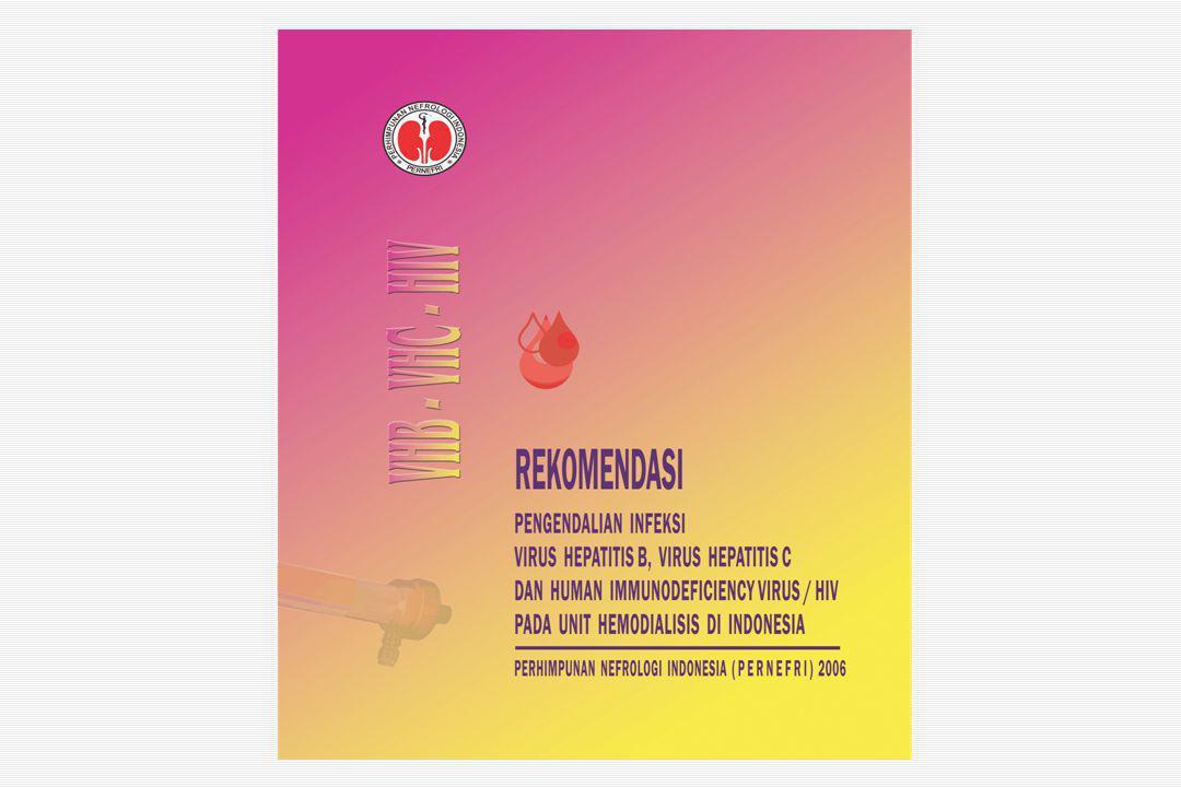 Pendahuluan Infeksi hepatitis C pada pasien hemodialisis menjadi masalah kesehatan utama baik di negara maju maupun di negara berkembang Hepatitis C meningkatkan kejadian sirosis hati dan hepatoma  meningkatkan morbiditas dan mortalitas Faktor managemen pencegahan infeksi yang buruk, sosial-ekonomi yang rendah dan tingginya angka transfusi darah, serta lamanya menjalani hemodialisis menjadi faktor resiko infeksi hepatitis C pada pasien yang menjalani hemodialisa Prevalensi sangat bervariasi  1 - 70%
