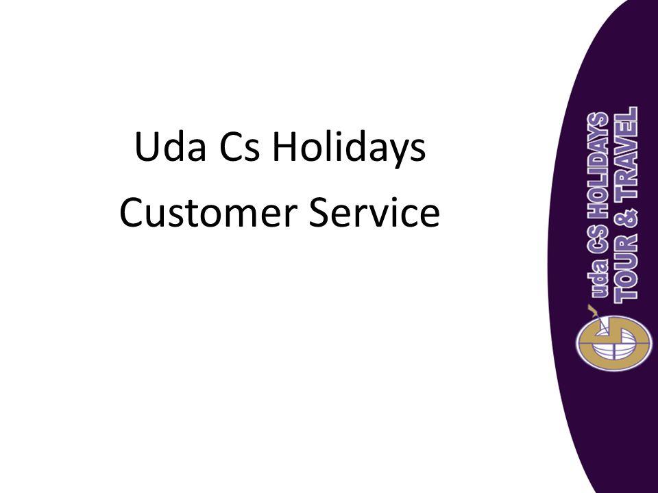 Uda Cs Holidays Customer Service