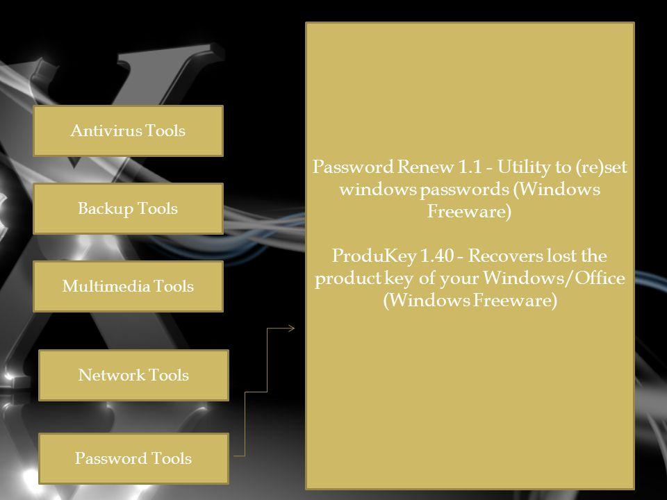  Hiren's BootCD 9.7 All in One Bootable CD which has all these utilities  Partition Tools Partition Magic Pro 8.05 Software partisi harddisk paling populer dan ampuh  Acronis Disk Director Suite 9.0.554 Program Manajemen Disk dalam satu paket program  Paragon Partition Manager 7.0.1274 Tool untuk partisi yang universal  Partition Commander 9.01 Cara aman untuk mem-partisi harddisk dengan fitur UNDO  Ranish Partition Manager 2.44 Boot manager dan pemartisi harddisk  The Partition Resizer 1.3.4 Pindahkan dan ubah ukuran partisi dalam satu langkah dan fasilitas lain  Smart Fdisk 2.05 Partition manager yang sederhana  SPecial Fdisk 2000.03t Tool partisi spesial dari SPFDISK  eXtended Fdisk 0.9.3 XFDISK memiliki fasilitas untuk membuat dan edit partisi dengan mudah  GDisk 1.1.1 Pengganti FDISK DOS ditambah beberapa fasilitas lain  Super Fdisk 1.0 Buat, delete, format partisi tanpa merusak data.