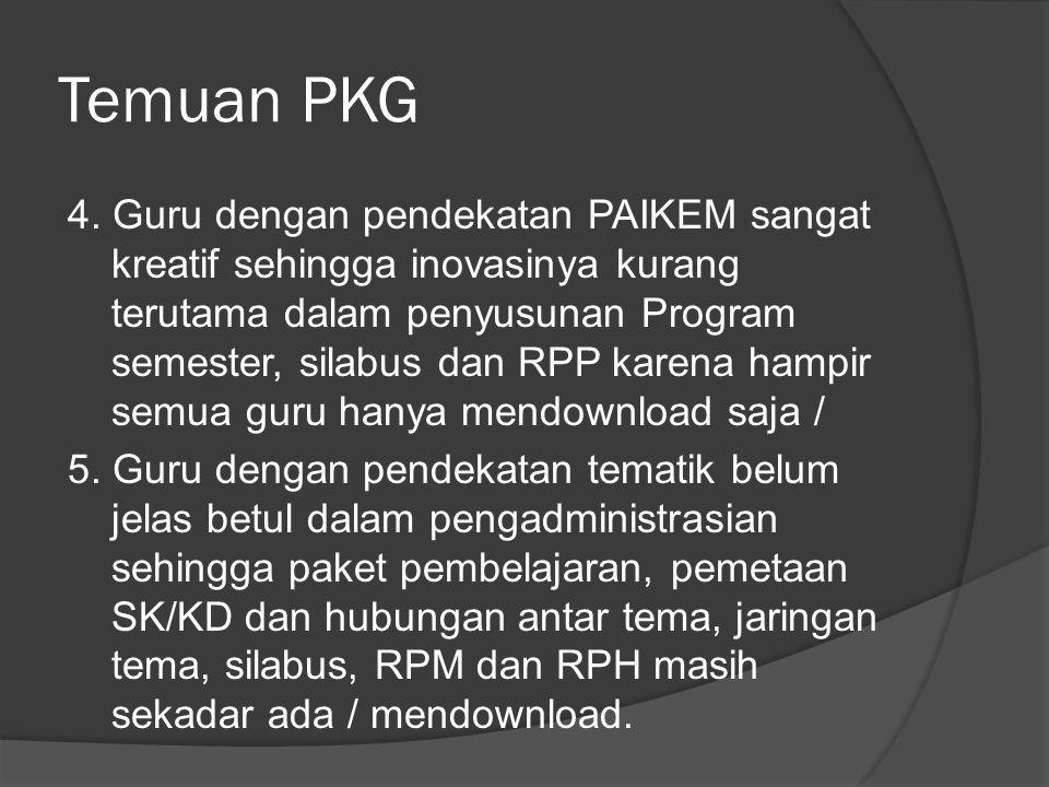 Temuan PKG 6.