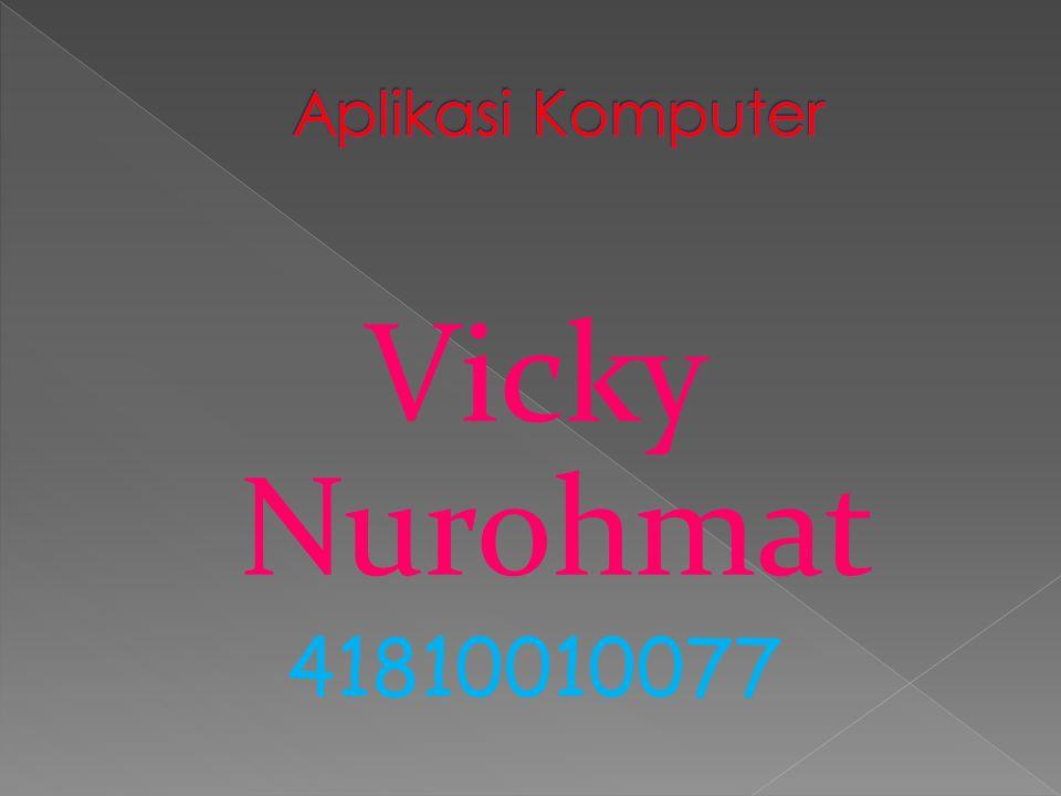 Vicky Nurohmat 41810010077