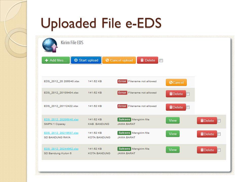 Uploaded File e-EDS