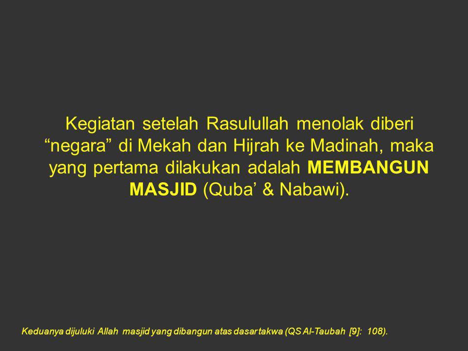 A'udzubillahiminasysyaithoonirrojiim Bertasbihlah kepada Allah di masjid-masjid yang telah diperintahkan untuk dimuliakan dan disebut nama-Nya di dalamnya pada waktu pagi dan petang, Laki-laki yang tidak dilalaikan oleh perniagaan, dan tidak (pula) oleh jual-beli dari mengingat Allah, dan (dari) mendirikan shalat, dan (dari) membayarkan zakat, mereka takut kepada suatu hari yang (di hari itu) hati dan penglihatan menjadi guncang.