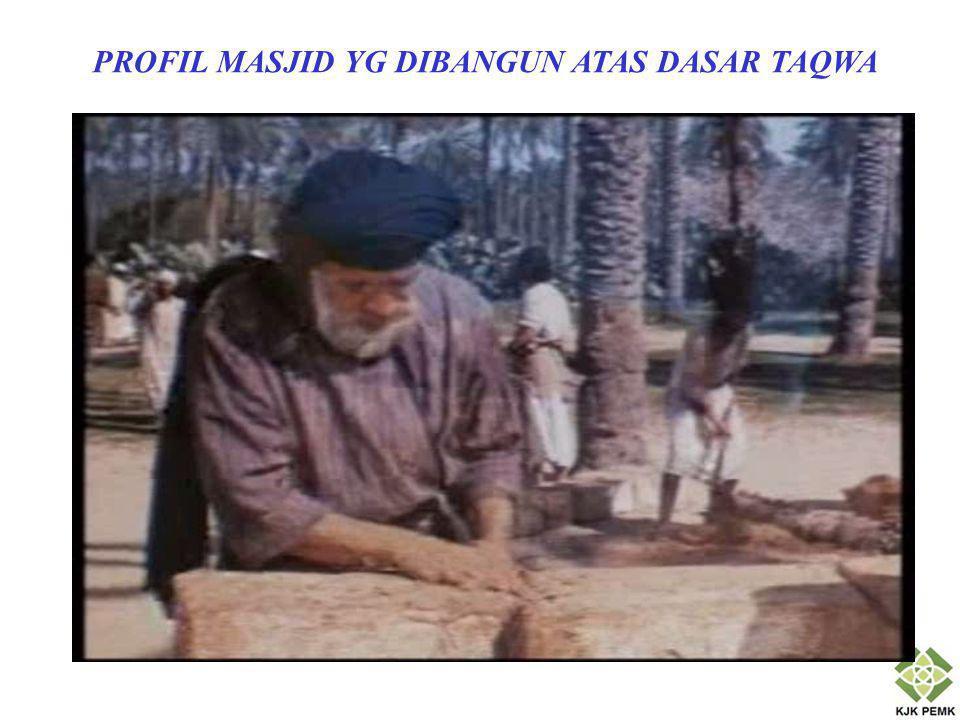 Keduanya dijuluki Allah masjid yang dibangun atas dasar takwa (QS Al-Taubah [9]: 108).