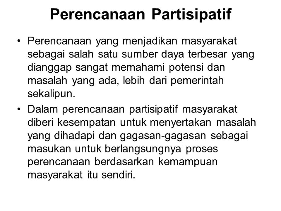 Diskusi Kelompok: Untuk mengatasi permasalahan transportasi Kota Jakarta, Pemda DKI Jakarta melakukan beberapa upaya penyelesaian: – menerapkan peraturan pembatasan penumpang kendaraan pada kawasan2 tertentu dan jam jam puncak (three in one) –Membangun jalan tol lingkar luar (JORR-Jakarta Outer Ring Road) yang menghubungkan bagian timur & barat wilayah jakarta sehingga terbentuk jalan melingkar di pinggiran kota –Melaksanakan kebijakan pembangunan busway, yakni jalur khusus untuk angkutan umum masal dengan bis kota Manakah yang dapat digolongkan kedalam pendekatan komprehensif, terpilah, atau mixed scanning, jelaskan argumentasi anda