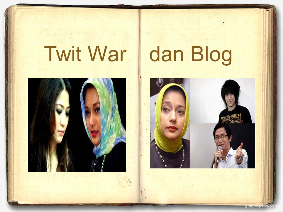  Twit War dan Blog