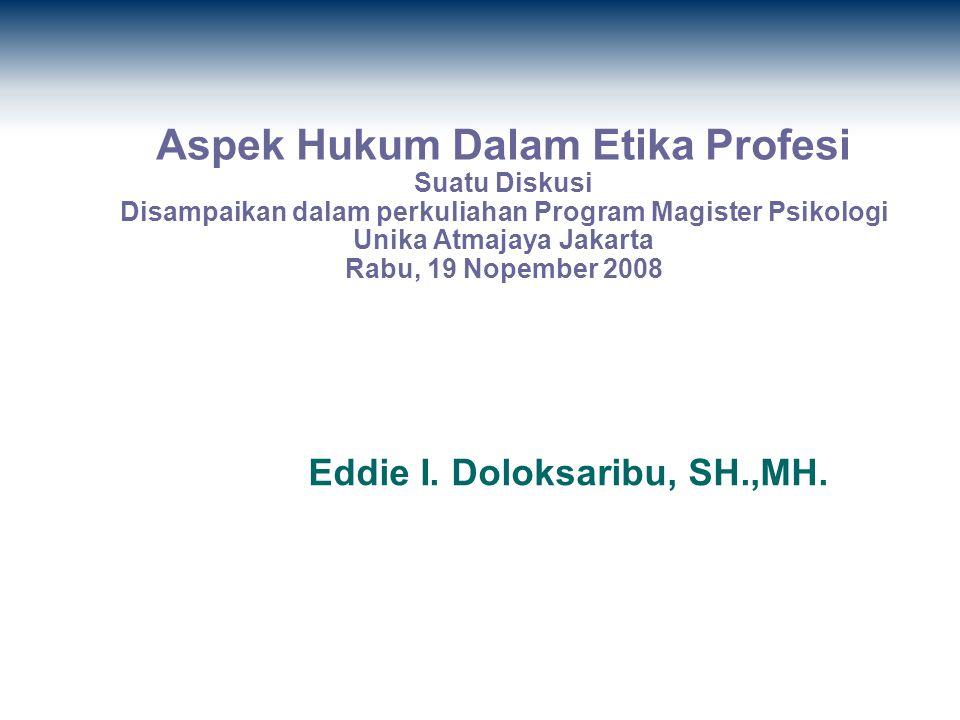 Pengertian Etika - Etika berasal dari Bahasa Yunani Ethikos (berarti moral ) dan kata Ethos (berarti karakter, watak kesusilaan atau adat ).