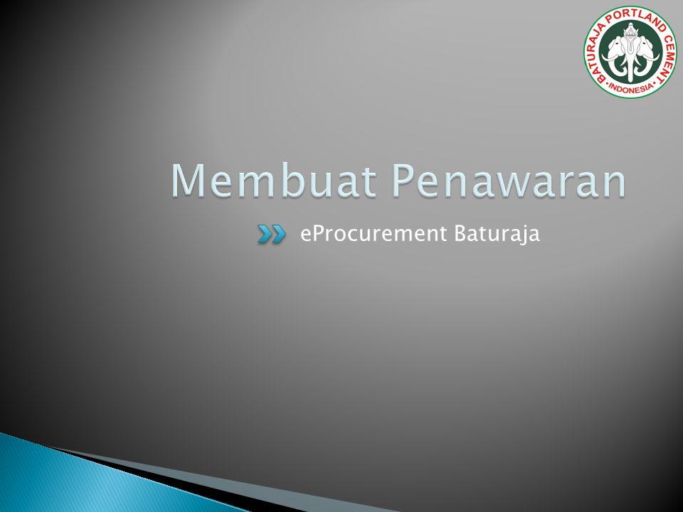 eProcurement Baturaja