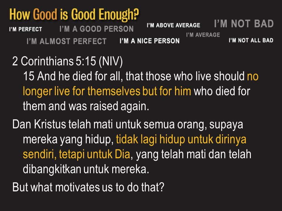 How grace affect our service 1 Kor 9:16 Karena jika aku memberitakan Injil, aku tidak mempunyai alasan untuk memegahkan diri.