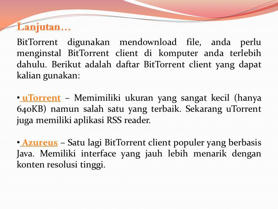 Apakah BitTorrent mengeluarkan biaya?