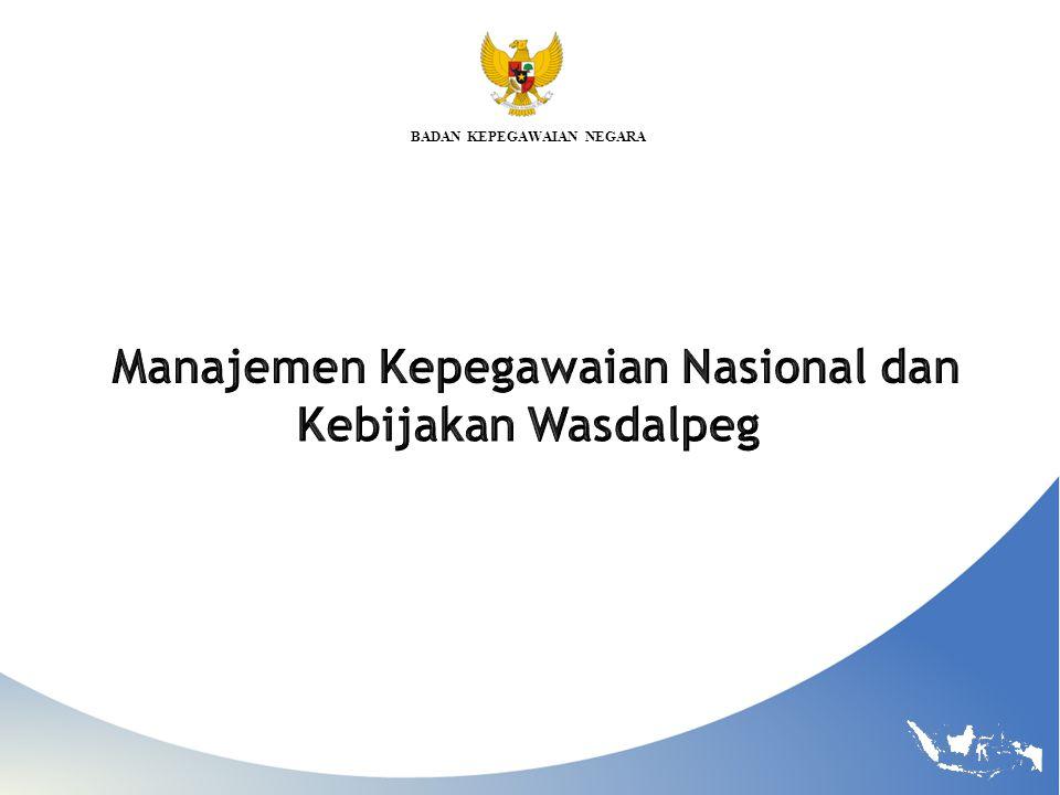 BKN Pengawasan dan Pengendalian Presiden Dibantu Kepala BKN Melakukan tindakan administrasi peringatan, teguran dan pembatalan