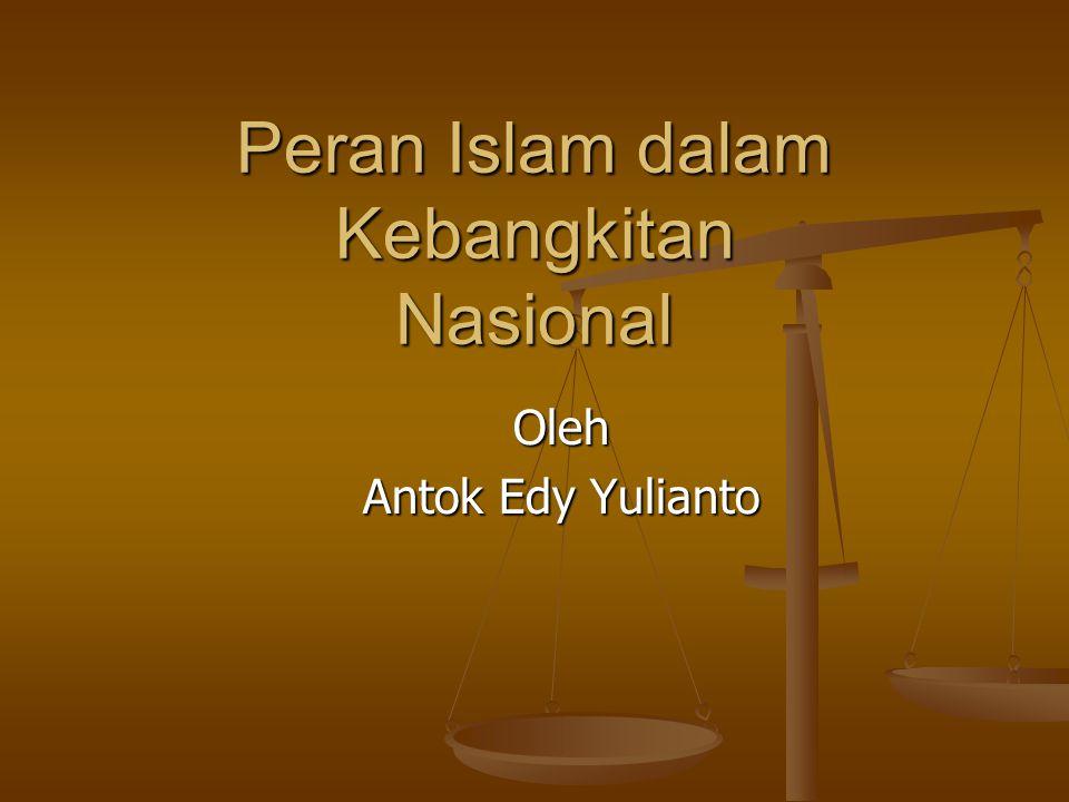REFLEKSI HISTORIS Marginalsasi peran Islam Kebijakan Pemerintah Hindia Belanda dan faktor- faktor yang mempengaruhinya Pola Umum Penjajahan thd Umat Islam Kontinyuitas Kebijakan thd Umat Islam