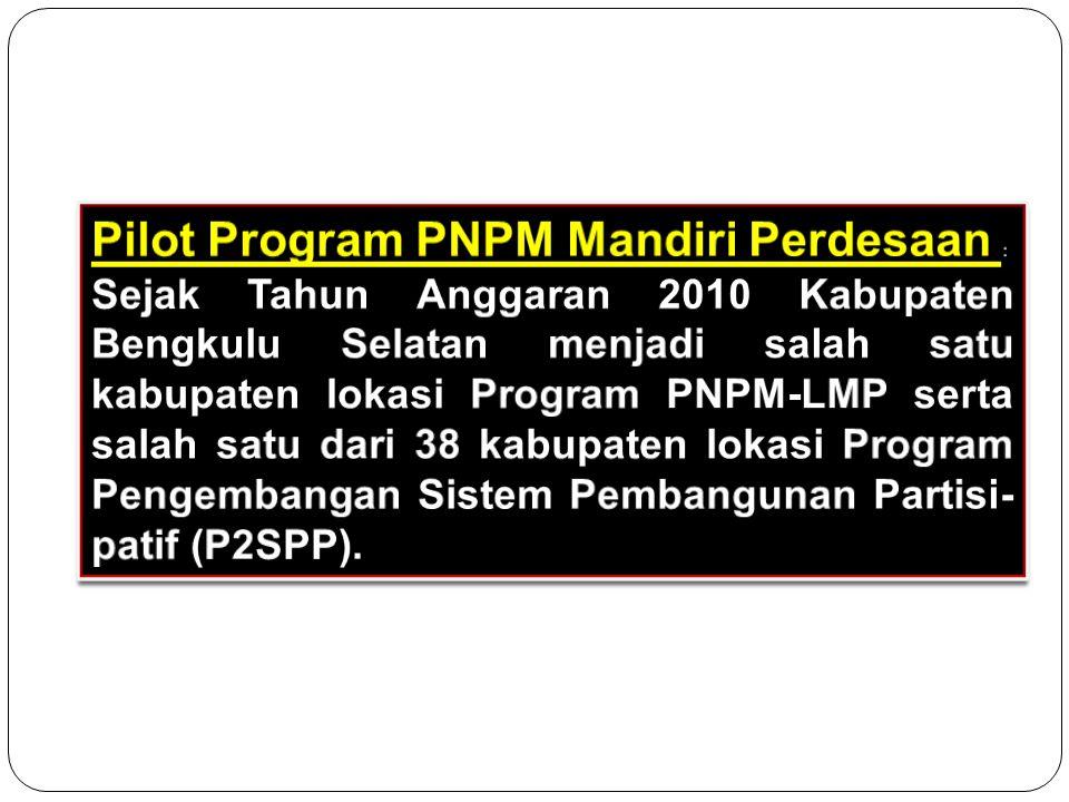 Program Pengembangan Sistem Pem- bangunan Partisipatif (P2SPP) :  TA.