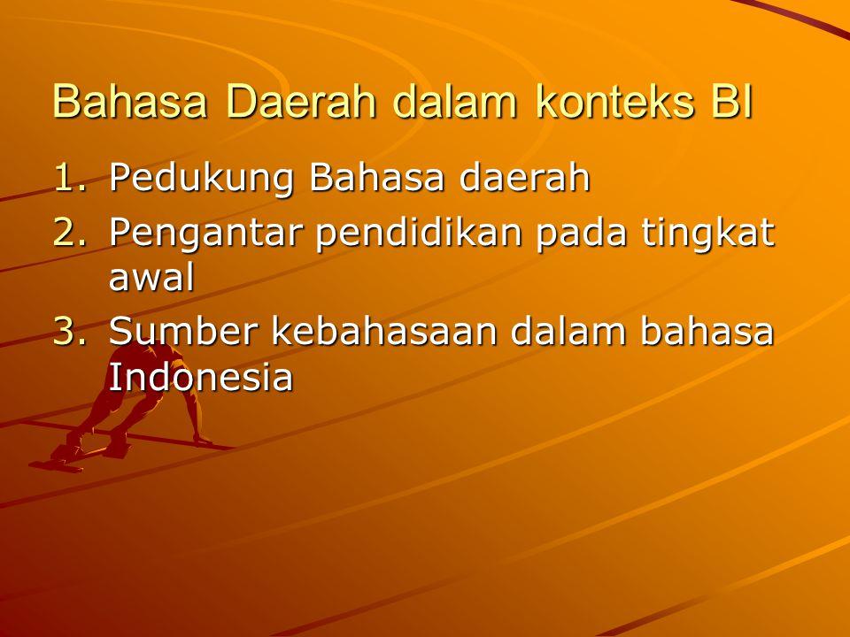 Fungsi Bahasa Asing 1.Bahasa perhubungan antarbangsa 2.Bahasa pengembangan iptek 3.Sumber pengembangan bahasa Indonesia