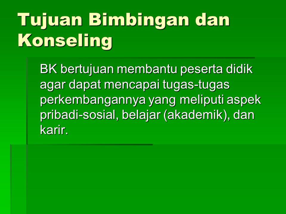 PROFESIONALISASI BIMBINGAN DAN KONSELING