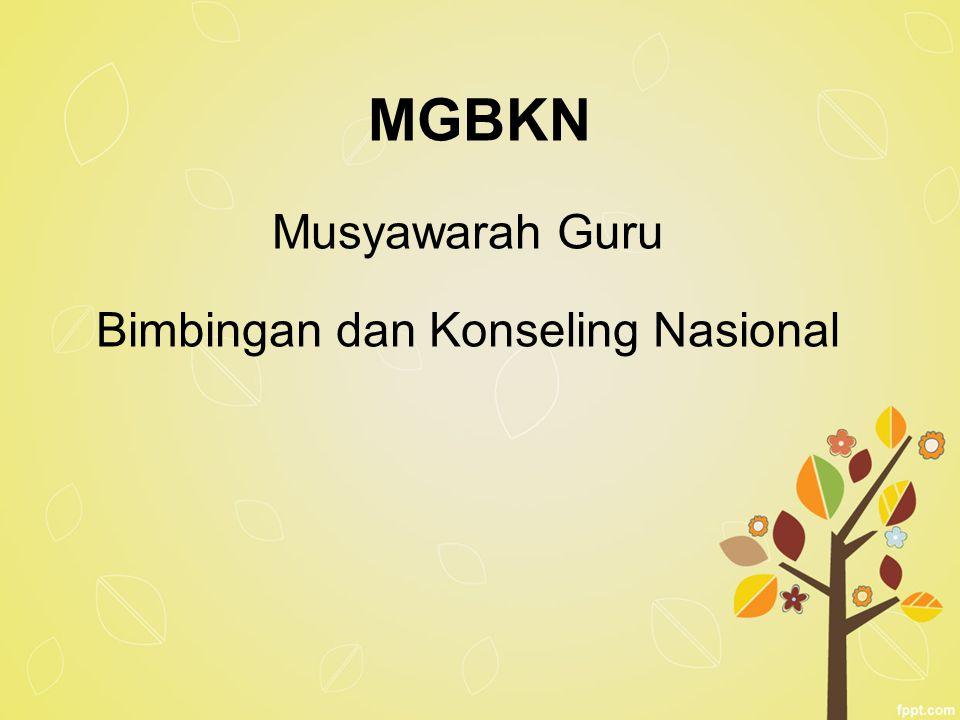 MGBKN Musyawarah Guru Bimbingan dan Konseling Nasional