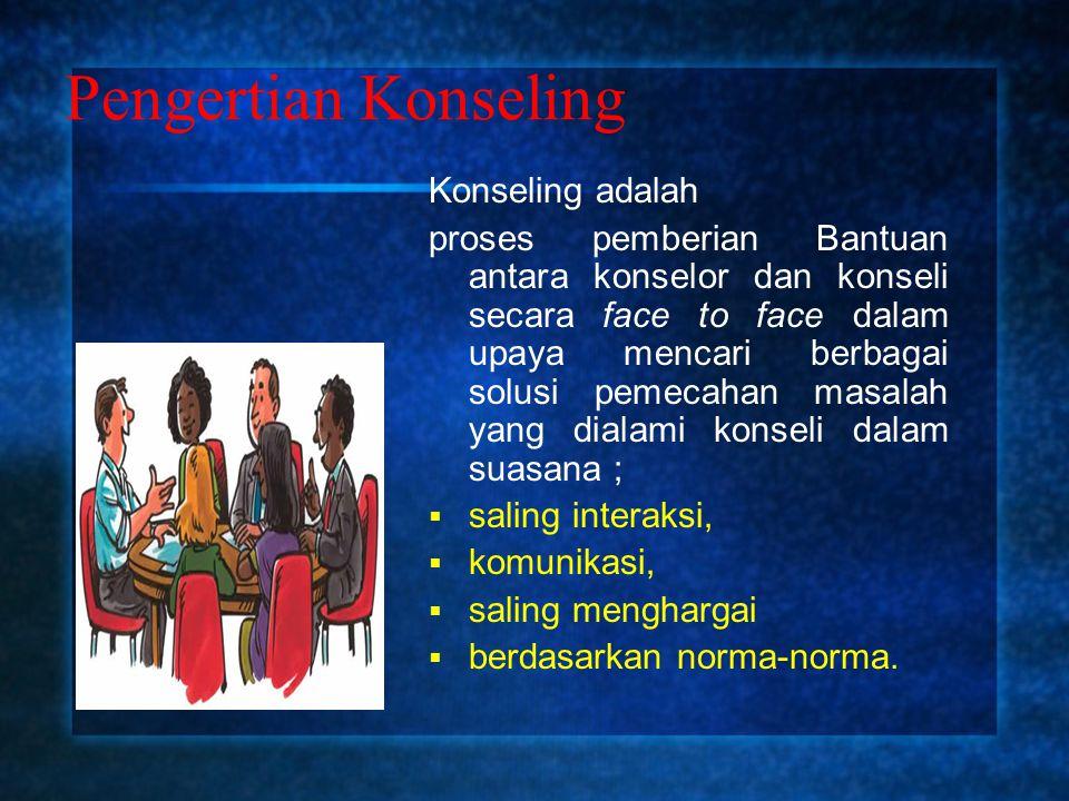 Hubungan Bimbingan dan Konseling Kata bimbingan dan konseling tidak dapat dipisahkan.