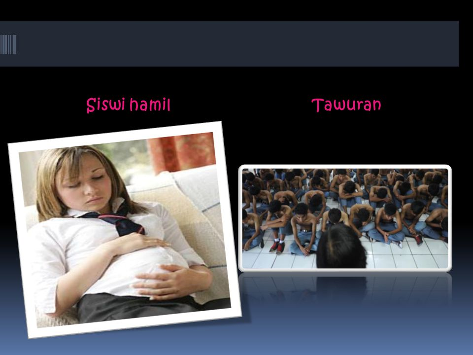 Siswi hamilTawuran
