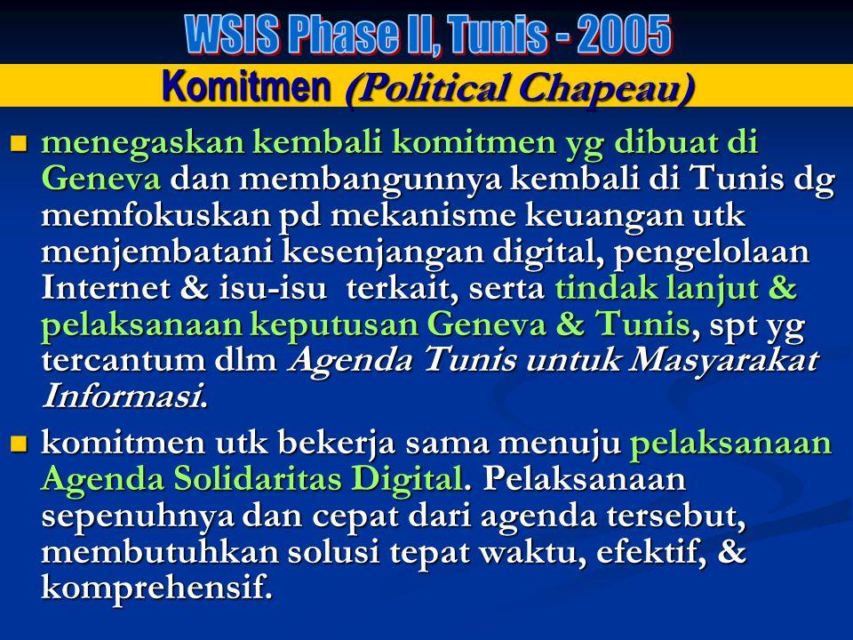 Target th 2015 : 1.hubungkan desa-2 dg TIK & bangun Community Access Point; 2.hubungkan universitas, akademi, sekolah-2 (SD/SMP/SMA) dg TIK 3.hubungka