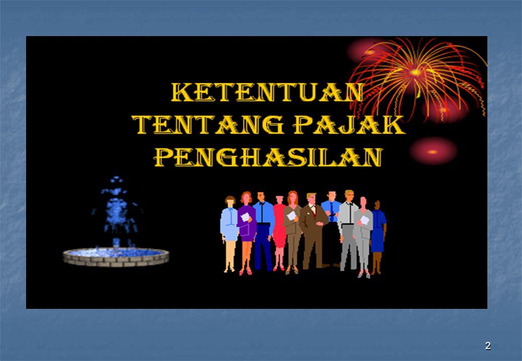 WAJIB PAJAK LUAR NEGERI a.Orang digolongkan sebagai subyek pajak luar negeri, apabila : 1) Tidak bertempat tinggal di Indonesia atau berada di Indonesia tidak lebih dari 183 hari dalam jangka waktu 12 bulan, namun menerima atau memperoleh penghasilan dari Indonesia.