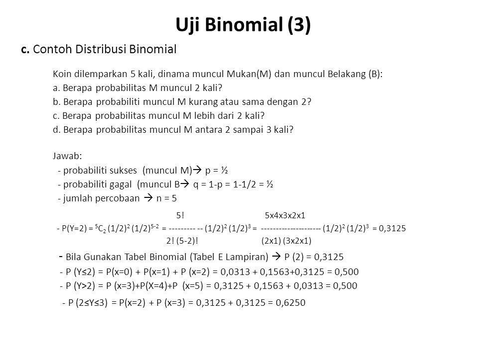 Uji Binomial (4) d.