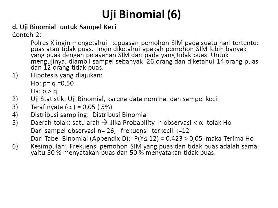 Uji Binomial (7) d.