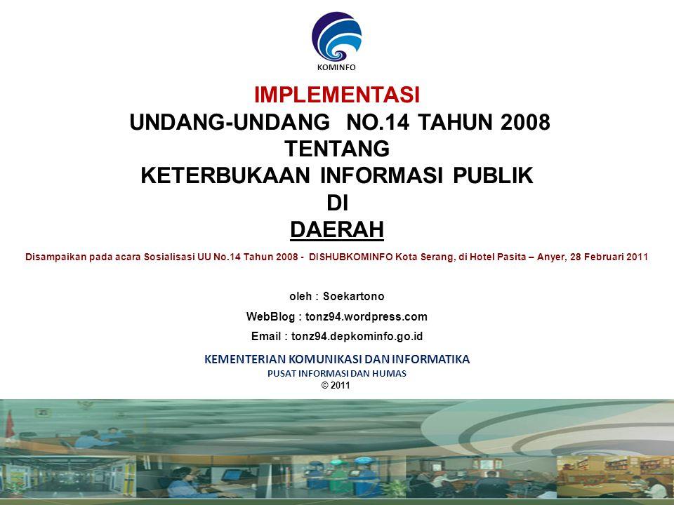 Badan publik Apa yang harus dilakukan oleh PPID .