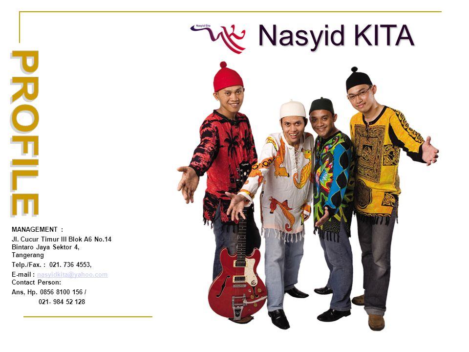 MANAGEMENT : Jl. Cucur Timur III Blok A6 No.14 Bintaro Jaya Sektor 4, Tangerang Telp./Fax.