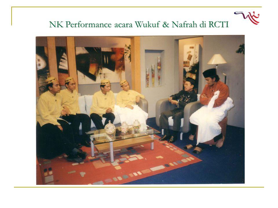NK Performance acara Wukuf & Nafrah di RCTI