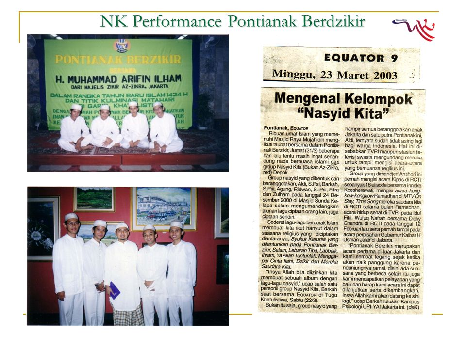 NK Performance Pontianak Berdzikir