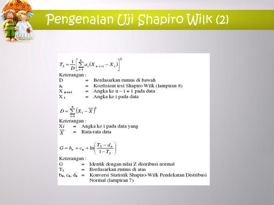 Pengenalan Uji Shapiro Wilk (2)