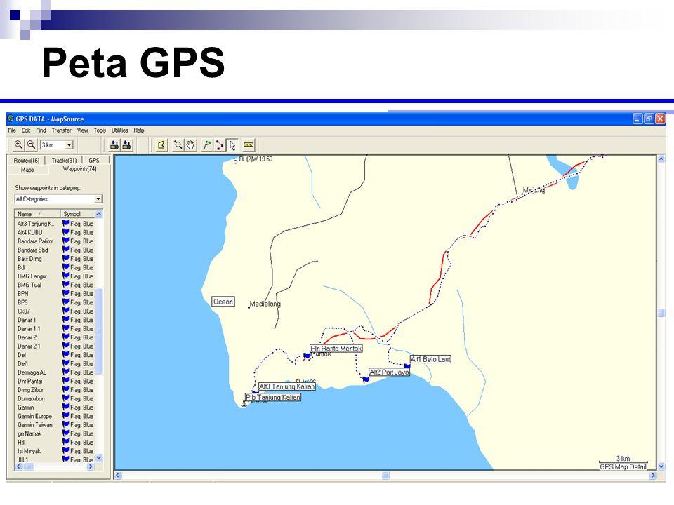 Peta GPS