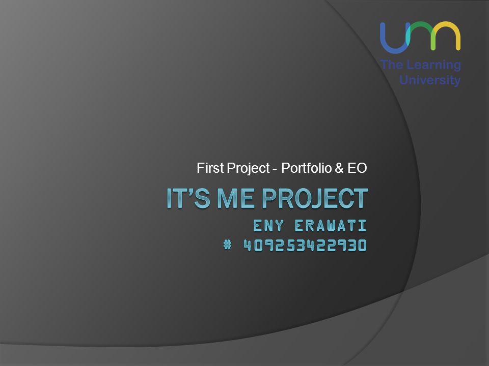 First Project - Portfolio & EO