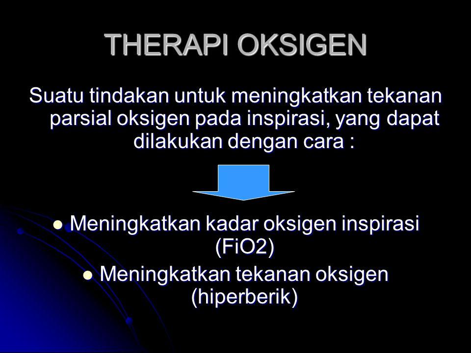 Kebutuhan O2 dipengaruhi oleh : Ketinggian Ketinggian Lingkungan (dingin/ panas) Lingkungan (dingin/ panas) Latihan/ Exercise Latihan/ Exercise Emosi