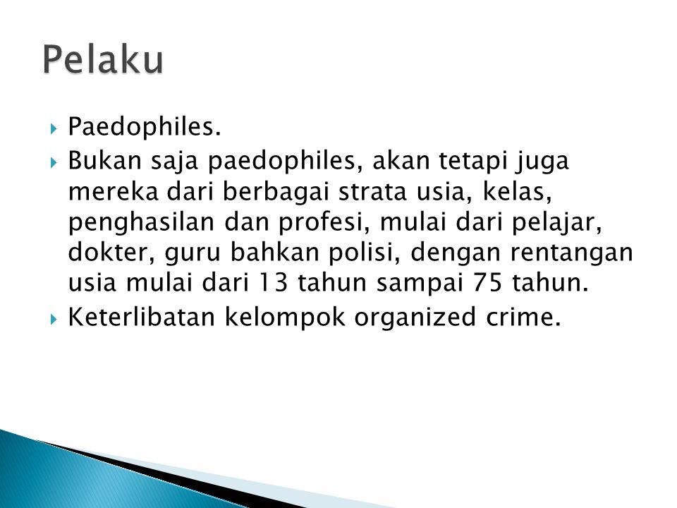  Paedophiles.