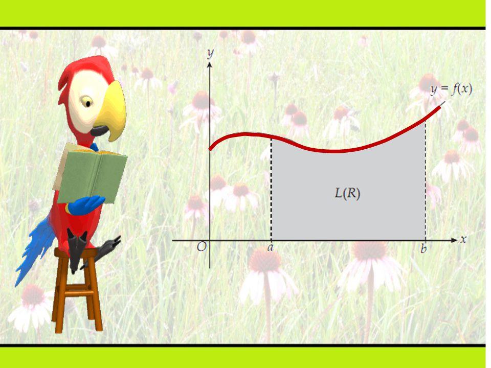 Hitunglah luas daerah tertutup yang dibatasi kurva y = x 2, sumbu x, dan garis x = 3 Langkah penyelesaian : 1.Gambarlah daerahnya 2.Partisi daerahnya 3.Aproksimasi luasnya L i  x i 2  x i 4.