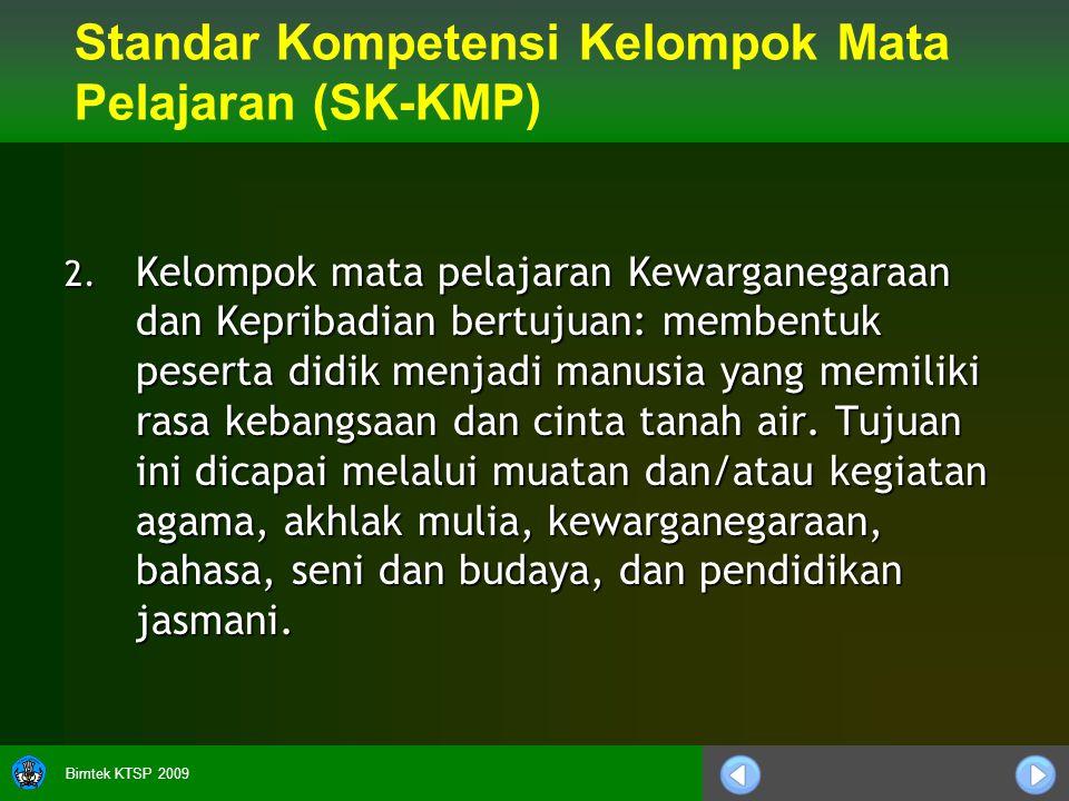 Bimtek KTSP 2009 2.
