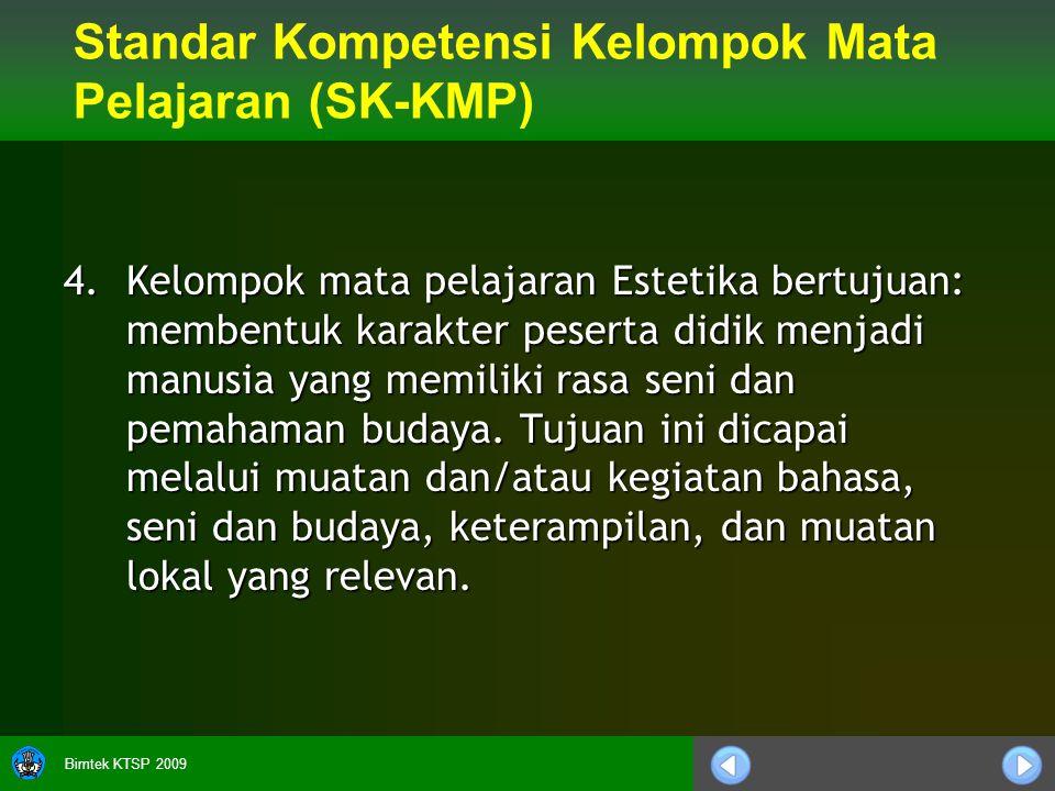 Bimtek KTSP 2009 4.