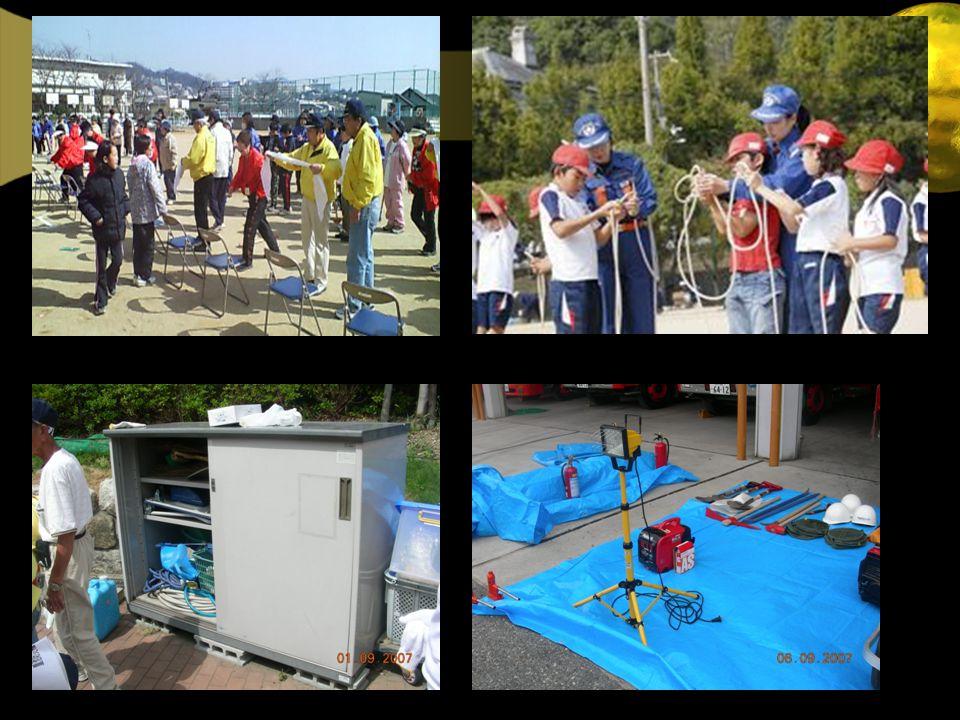 Pelatihan pertolongan pertama Dukungan Peralatan Darurat