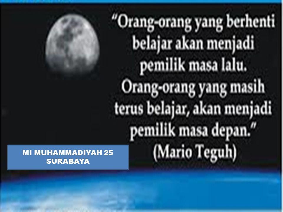 MI MUHAMMADIYAH 25 SURABAYA