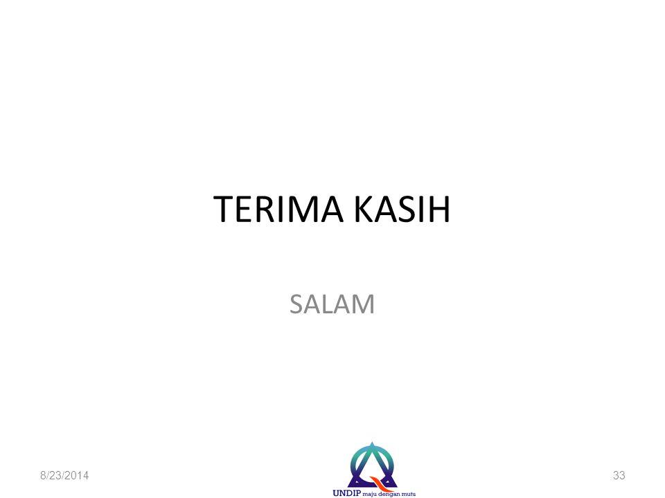 TERIMA KASIH SALAM 8/23/201433