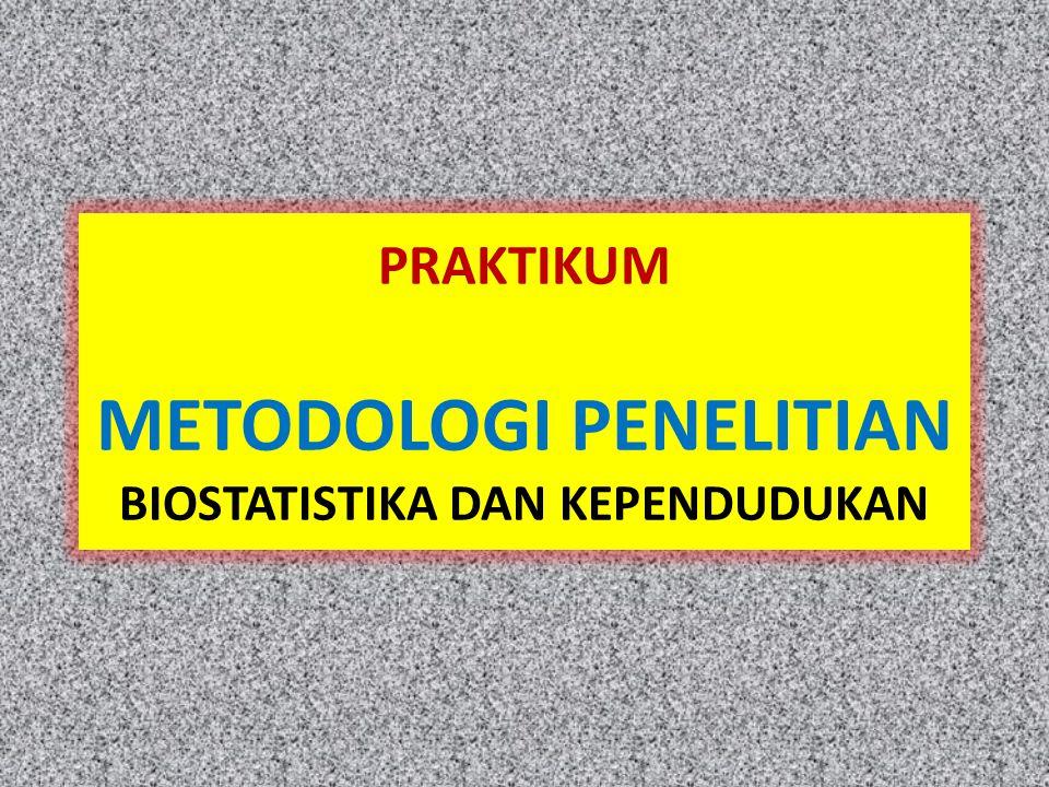 Praktikum MP Bios & Kep Bobot : 2 sks Metode perkuliahan – Review – Presentasi praproposal Dosen : semua dosen Bios & Kep