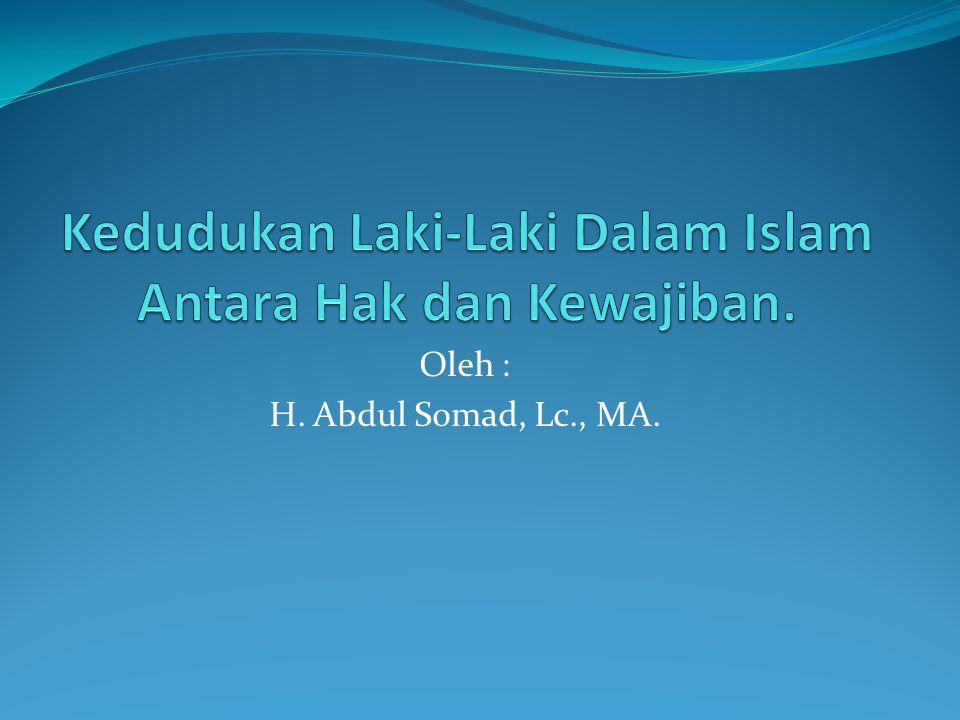 Oleh : H. Abdul Somad, Lc., MA.