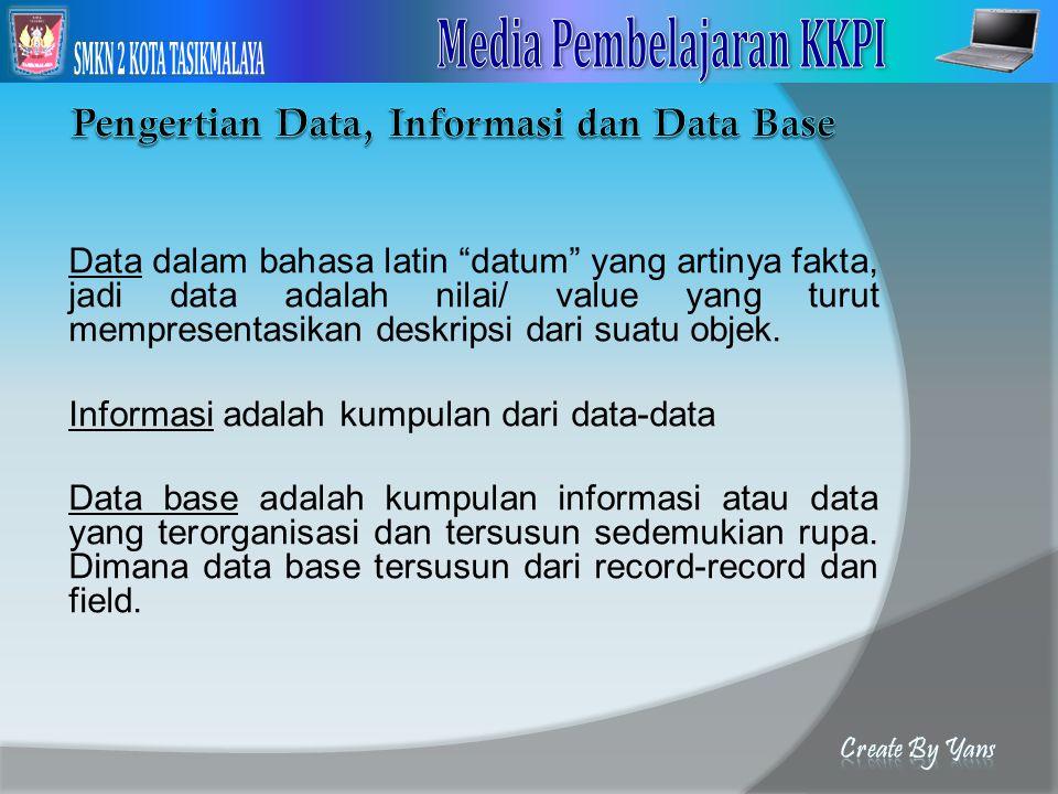 Membuat Report ( Laporan ) Aktifkan query yang telah dibuat sebelumnya, agar data yang dimunculkan pada Report nantinya lengkap.