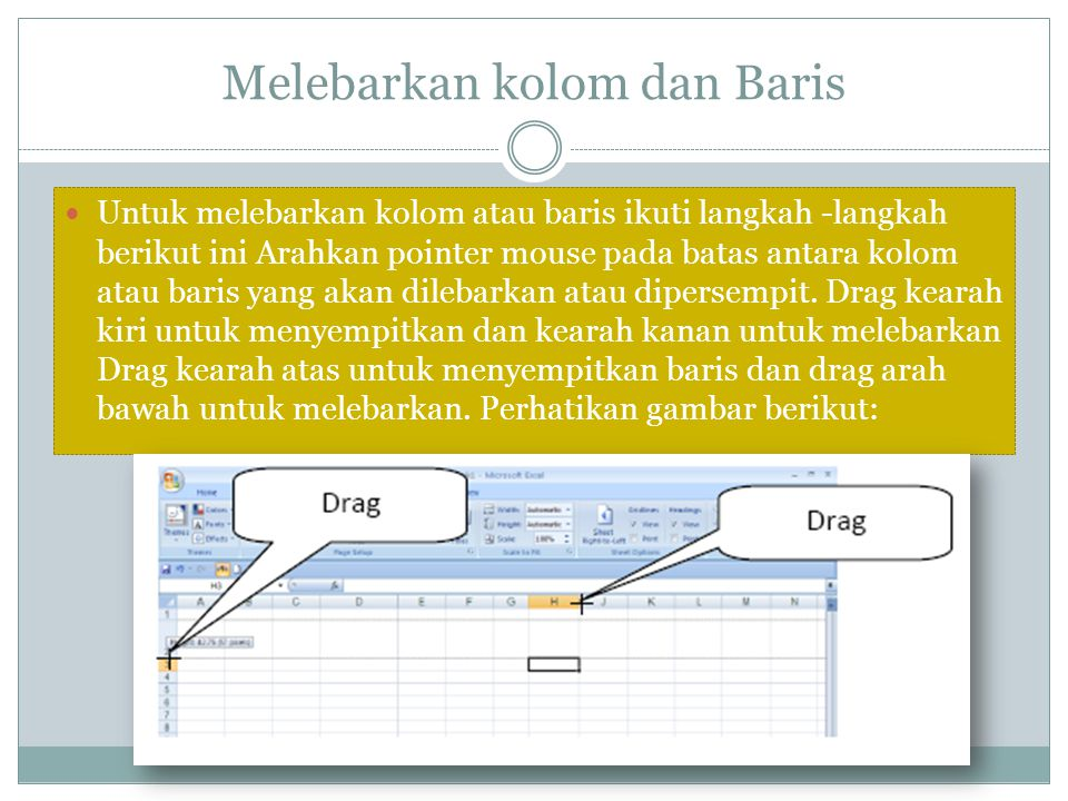 Operasi dasar aritmatika dengan Microsoft Excel Menulis rumus diatas dapat dengan cara lain yaitu : ketik = klik C2*Klik D2* klik E2 enter Sel F7 merupakan rumusan gabungan dan ditampilkan pada formula bar yaitu : =(C7*D7)/E7 artinya (data yang ada di sel (C7+ Data D7) kemudian dibagi data E7 = 2.5