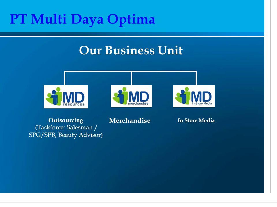 Company Profile  Multi Daya Resources bergerak di bidang Agencies, Distribusi, Jasa dan Perdagangan, Human Resources provider yang mengutamakan loyalitas dan excellent service kepada user.