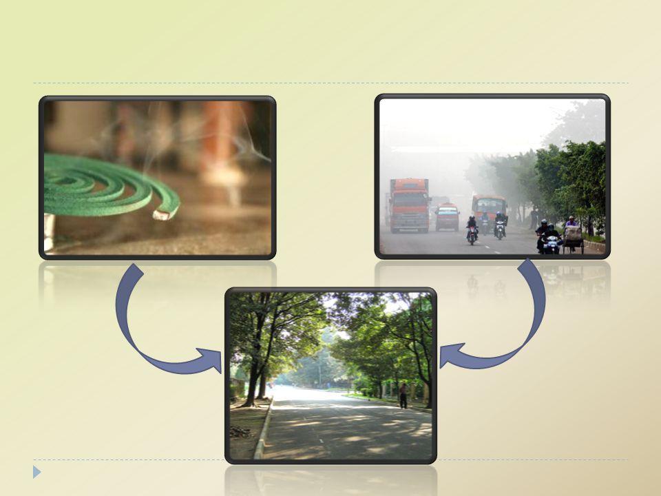 EFEK RUMAH KACA / GREEN HOUSE EFFECT  Meningkatnya konsentrasi berbagai gas di atmosfir.