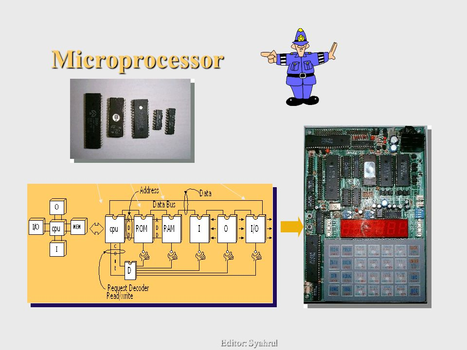 Editor: Syahrul6 Microprocessor