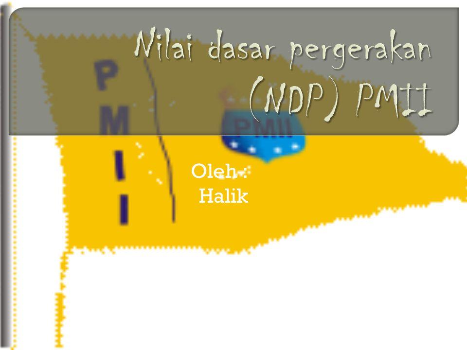 Oleh : Halik