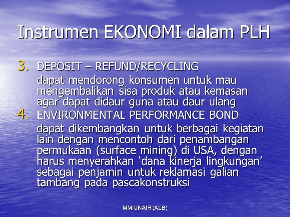 MM UNAIR (ALB) Instrumen EKONOMI dalam PLH 3.